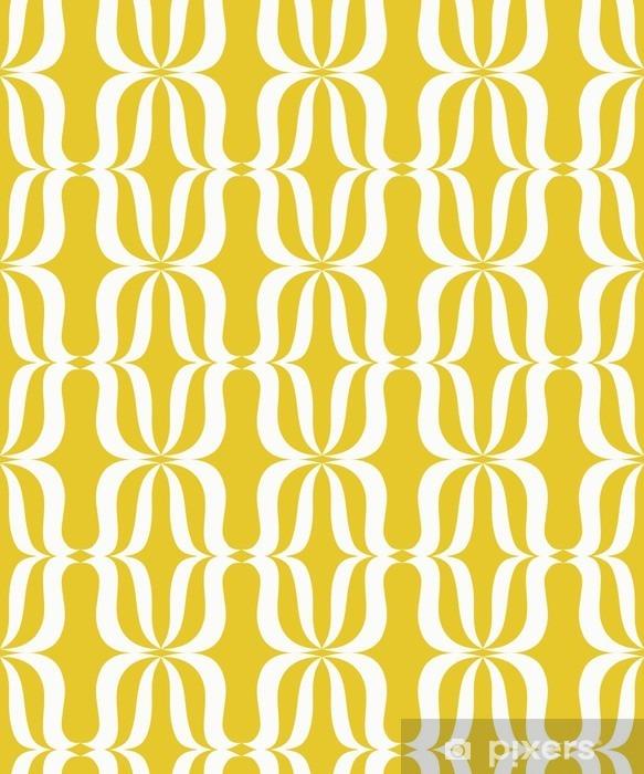 Raamsticker Naadloze vintage patroon - Grafische Bronnen