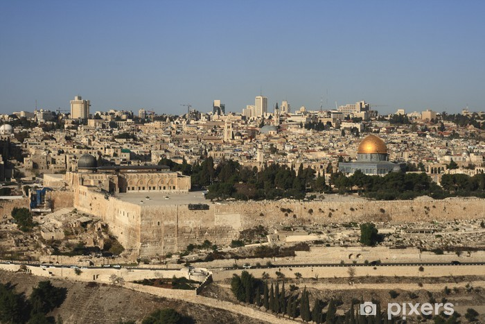 Pixerstick Dekor Jerusalem - Mellanöstern