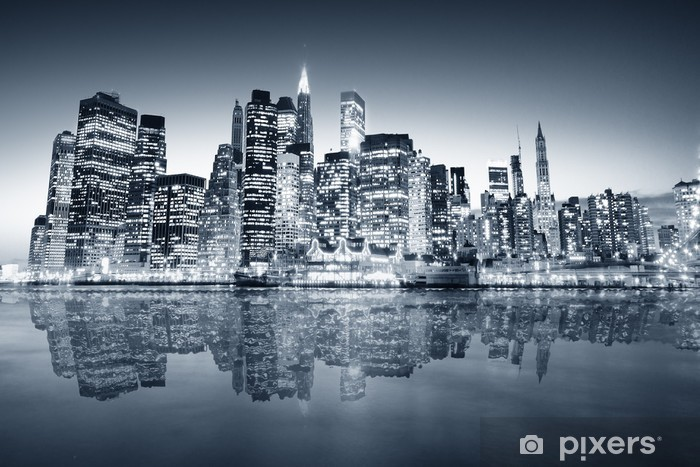Papier peint vinyle New york manhattan -