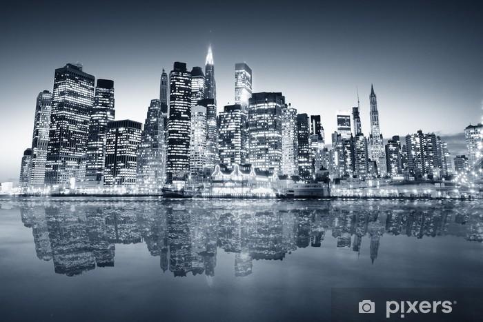 Zelfklevend Fotobehang New York Manhattan -
