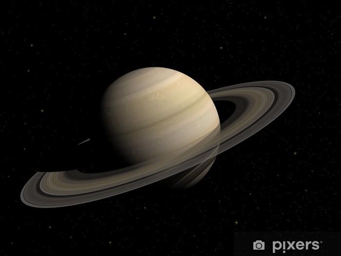 Saturn Pixerstick Sticker - Planets