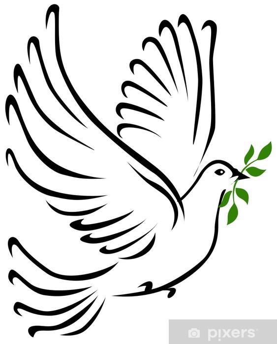 Sticker Colombe de la Paix • Pixers® - Nous vivons pour ...