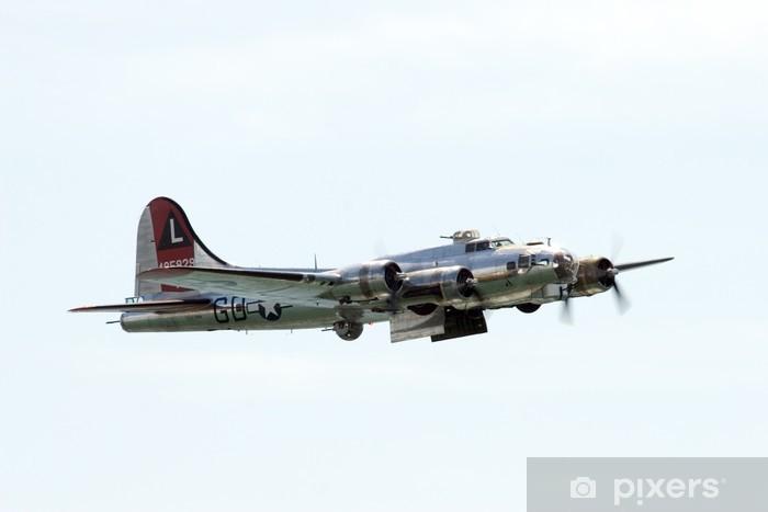 Naklejka Pixerstick Bombowiec - Transport powietrzny