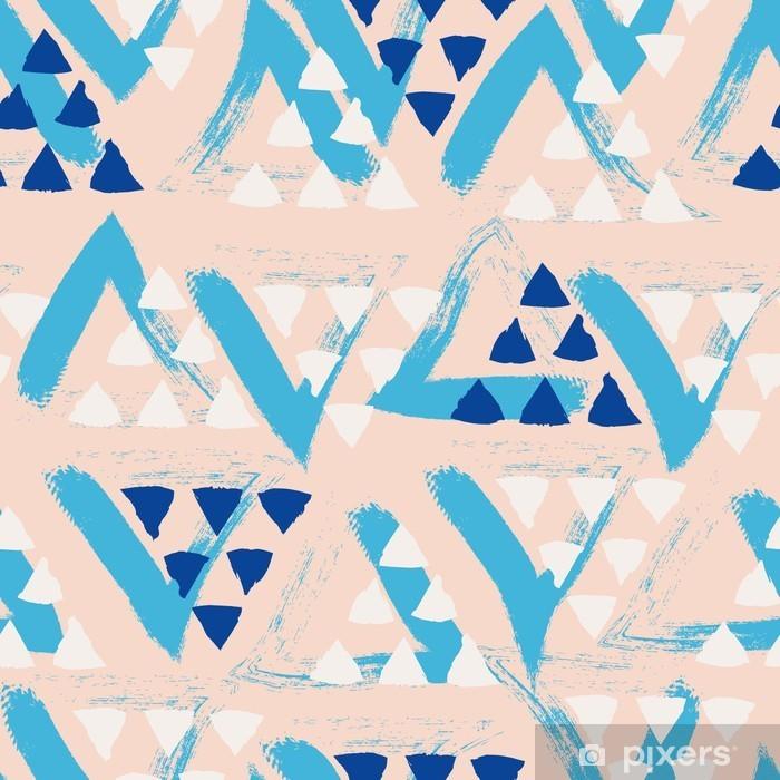 Zelfklevend Fotobehang Naadloze hand getekende patroon -