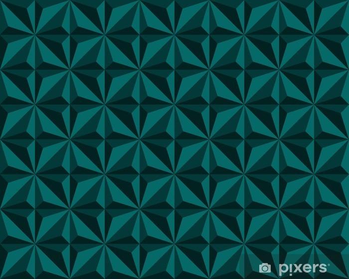 Fotomural Estándar Resumen de antecedentes con triángulos - Recursos gráficos