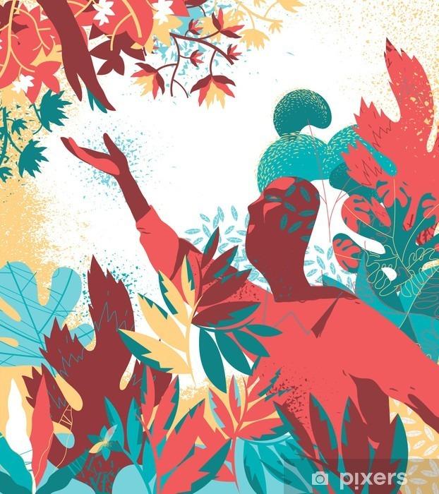 Adesivo para Notebook Natura irmãs - Meio Ambiente