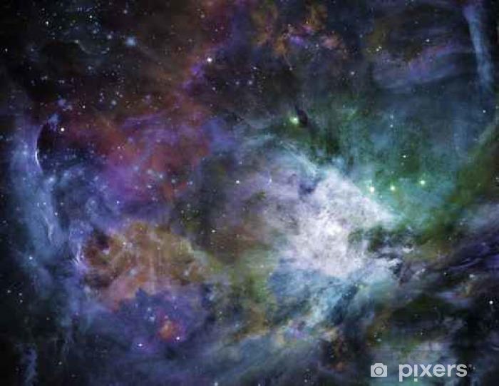 Vinyl Fotobehang Galactic Space Sommige elementen voorzien met dank aan NASA__ - Wetenschap
