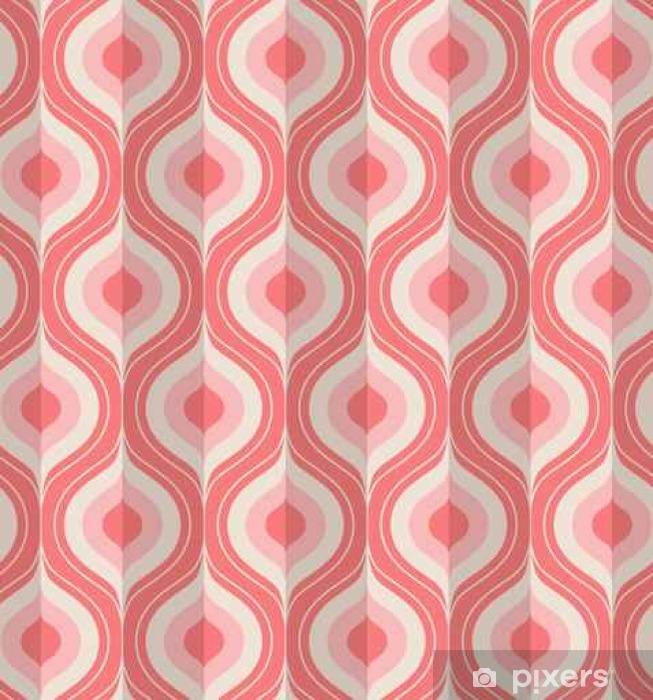 Nálepka Pixerstick Bezešvé vinobraní geometrický vzor - Grafika