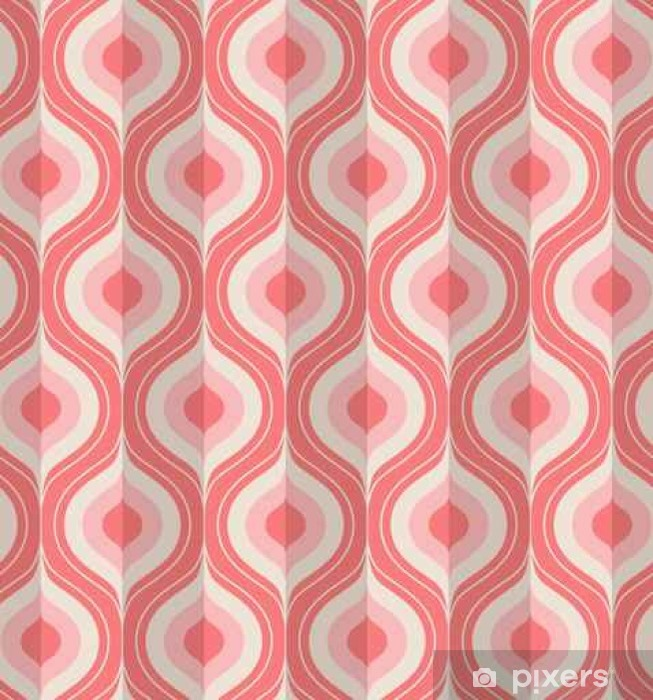 seamless vintage geometric pattern Pixerstick Sticker - Graphic Resources
