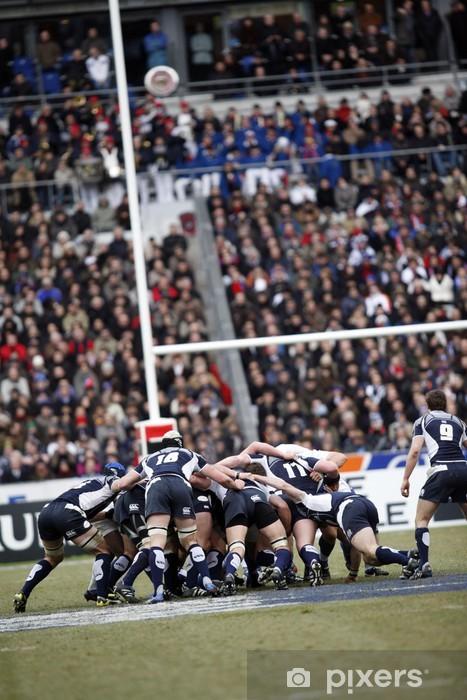 Fototapeta winylowa Rugby - Rugby