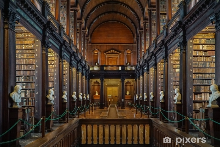 Afwasbaar Fotobehang Boek van Kells-bibliotheek in Dublin, Ierland - Gebouwen en Architectuur