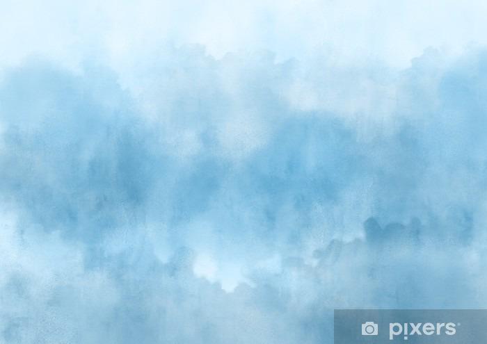 Vinil Duvar Resmi Renkli suluboya El dokular için soyut bir arka plan boyalı - Grafik kaynakları