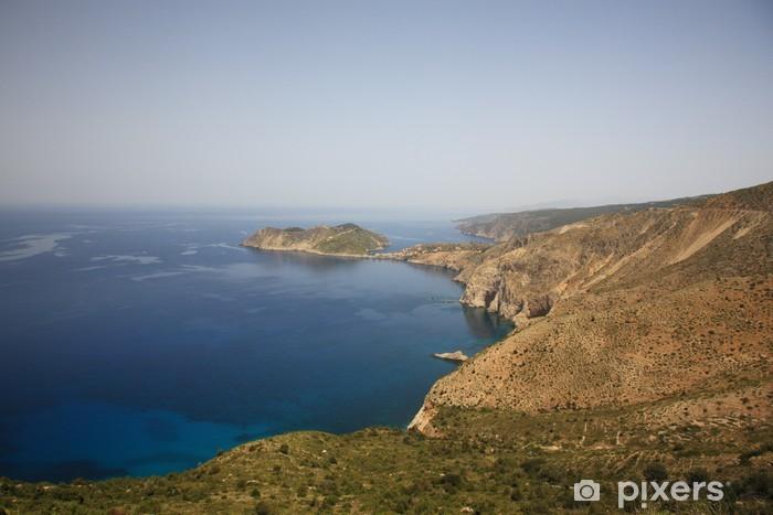Fototapeta winylowa Patrząc na do Assos - Europa