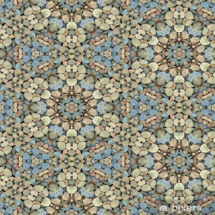 Fototapeta winylowa Streszczenie dekoracyjne żwiru tekstury tła. Jednolite kolorowe - Relaks