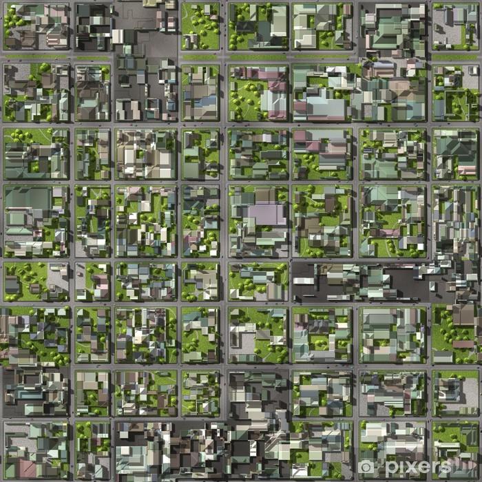 Plakat Satellite view -