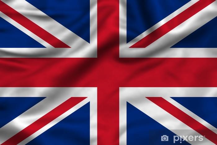 Fototapeta winylowa Flaga Unii jack anglia - Tematy