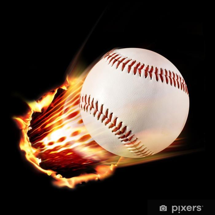 Carta da Parati in Vinile Baseball - Attrezzature sportive