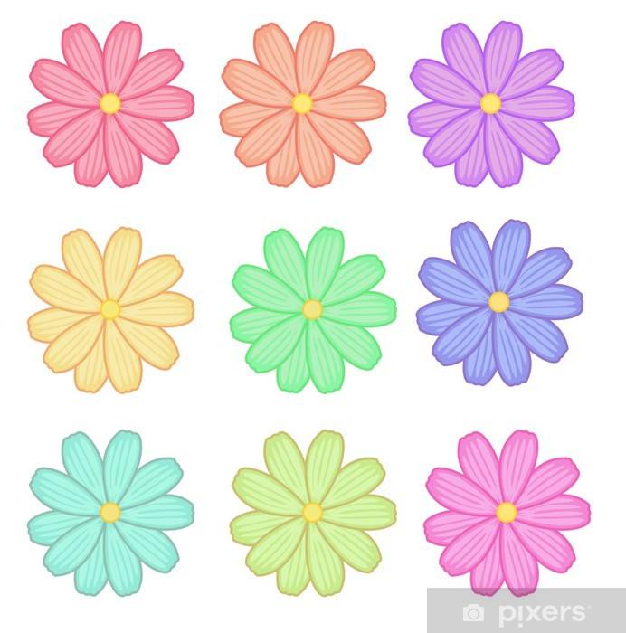 Papier peint vinyle Fleures - Criteo