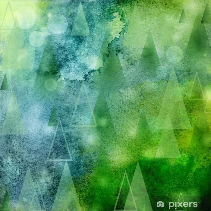 Naklejka na drzwi Abstrakt lichter weihnachtsbäume - Styl życia