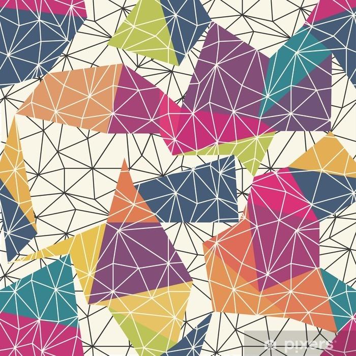 Fototapeta winylowa Szkielet Streszczenie Surface Seamless Pattern - Zasoby graficzne