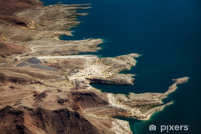Fototapeta winylowa Widok z lotu ptaka Lake Mead - Krajobrazy