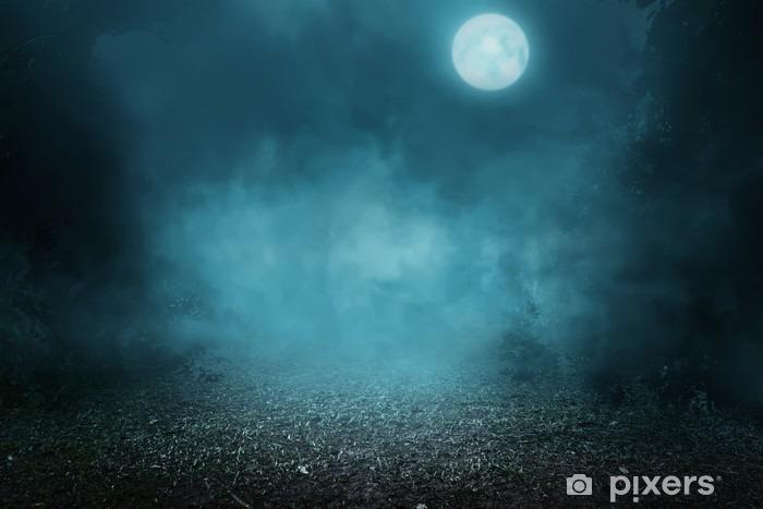 Fototapeta winylowa Spooky mglisty las - Religia i kultura