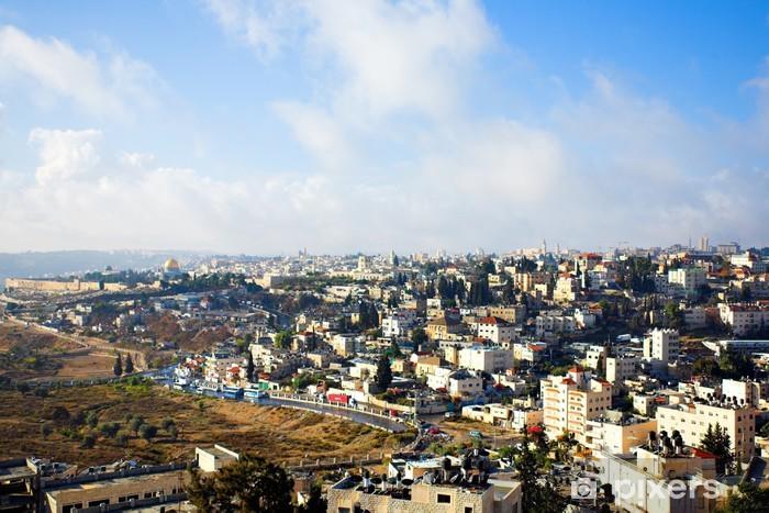 Pixerstick Dekor Stad panorama, Jerusalem - Mellanöstern