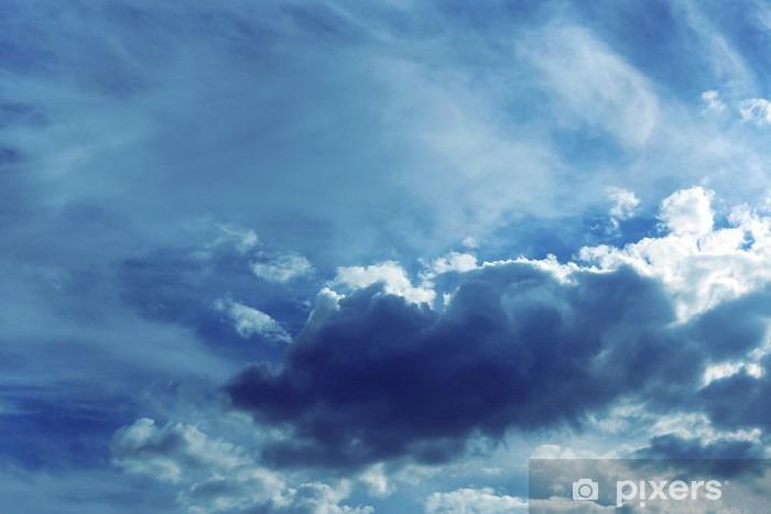 Sticker Pixerstick Fond de ciel avec des nuages - Paysages