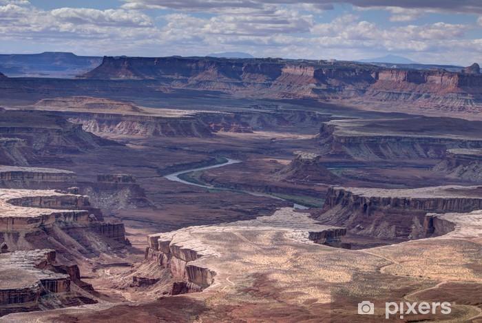Carta da Parati in Vinile Paesaggio del Parco Nazionale del Canyonlads - Paesaggi