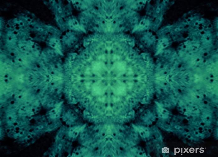 Fotomural Estándar Resumen de imagen cian fondo espiritual hermosa maravillosa adornado - Recursos gráficos