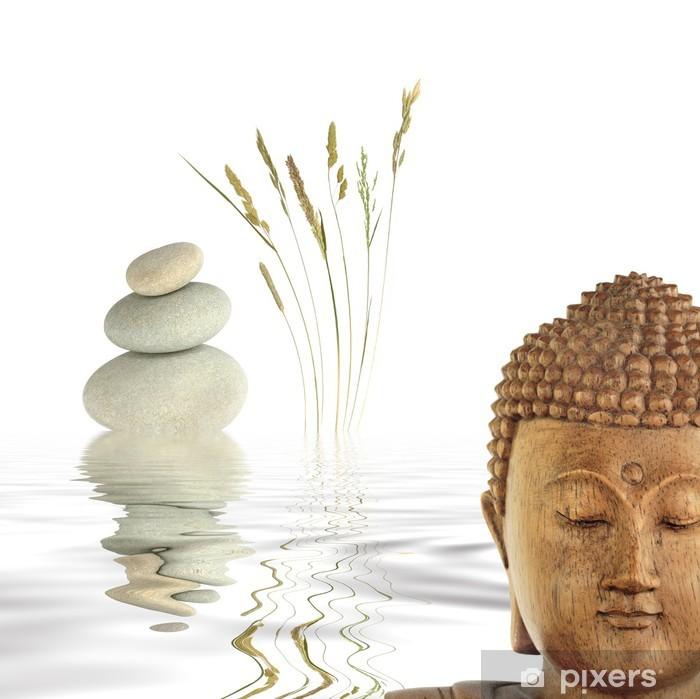 Papier peint vinyle Bouddha dans la contemplation - Thèmes