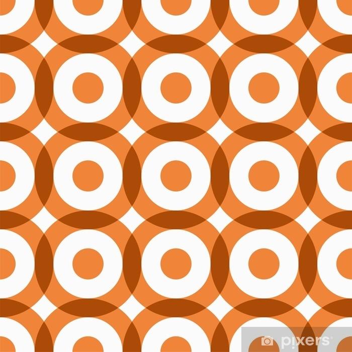 Fototapet av vinyl Gjentatt geometrisk sømløs mønster. vektor illustrasjon. - Grafiske Ressurser