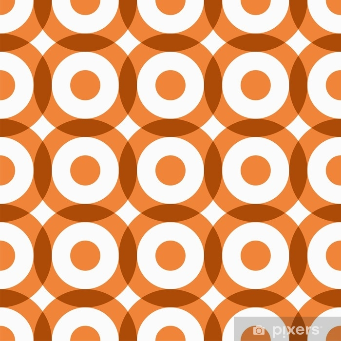 Repeating geometric seamless pattern. Vector illustration. Washable Wall Mural - Graphic Resources