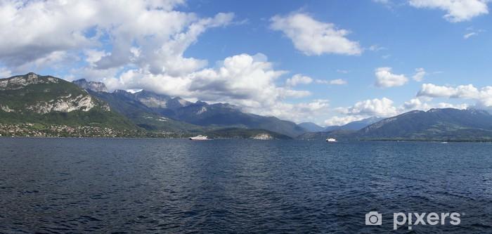 Sticker Pixerstick Lac de montagne - Eau