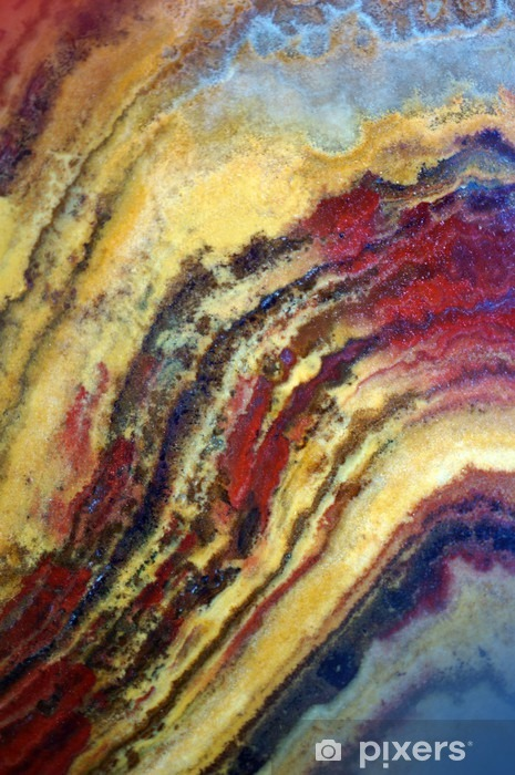 Texture of gemstone onyx Vinyl Wall Mural - Graphic Resources