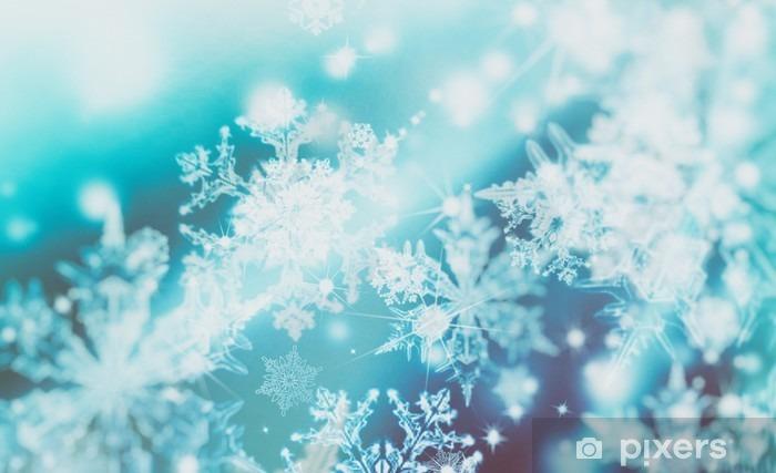 Fiocchi Di Neve Di Carta Modelli : Carta da parati faretti sfocatura scintillanti su sfondo astratto