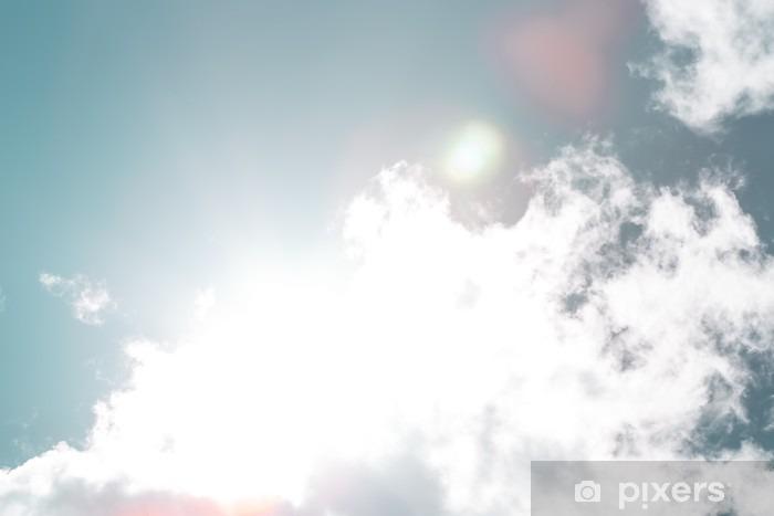 Vinyl Fotobehang Blue-sky - Landschappen