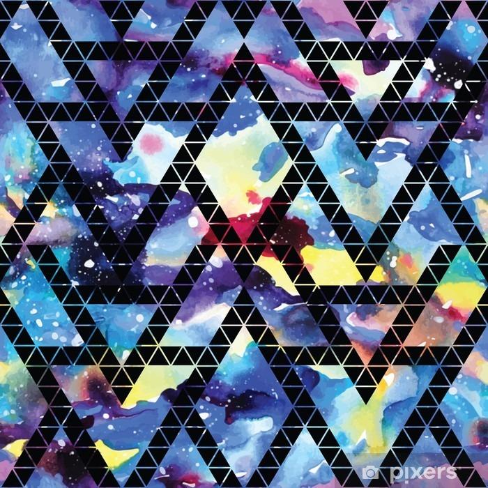 Sticker Pixerstick Galaxie tribal seamless. - Ressources graphiques