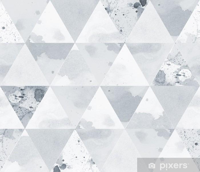 Papier peint vinyle Modèle noir et blanc - Ressources graphiques