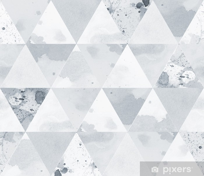 Black and white pattern Vinyl Wall Mural - Graphic Resources