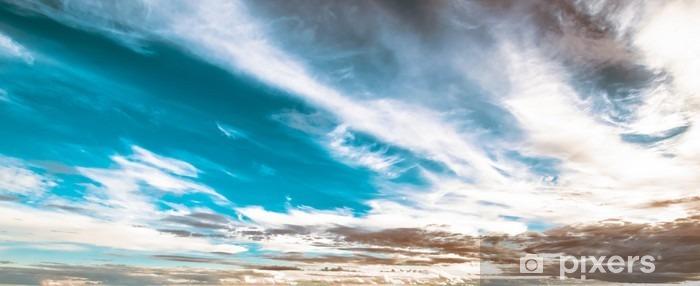 Sky og skyer smukke sommer Vinyl fototapet - Landskaber