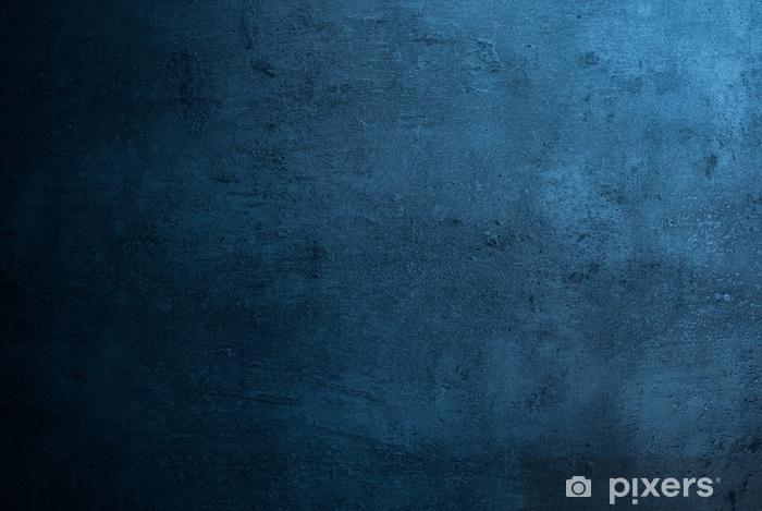 Vinyl Fotobehang Lege donkere betonnen oppervlaktetextuur - Grafische Bronnen