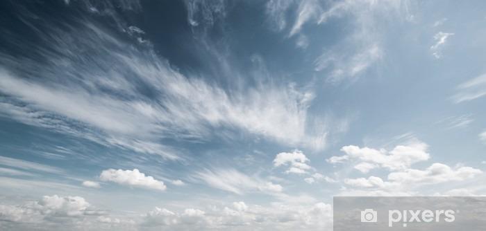 Himmel og skyer atmosfære baggrund Vinyl fototapet - Landskaber