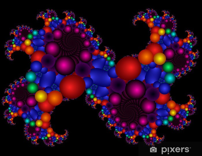 Vinilo Pixerstick Balle - Abstractos