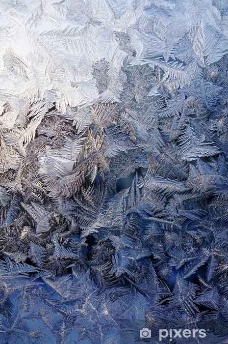 Winter ice background Vinyl Wall Mural - Graphic Resources