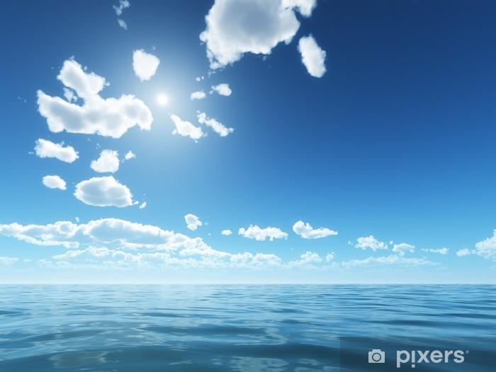Çıkartması Pixerstick Parlak gökyüzü - Gökyüzü