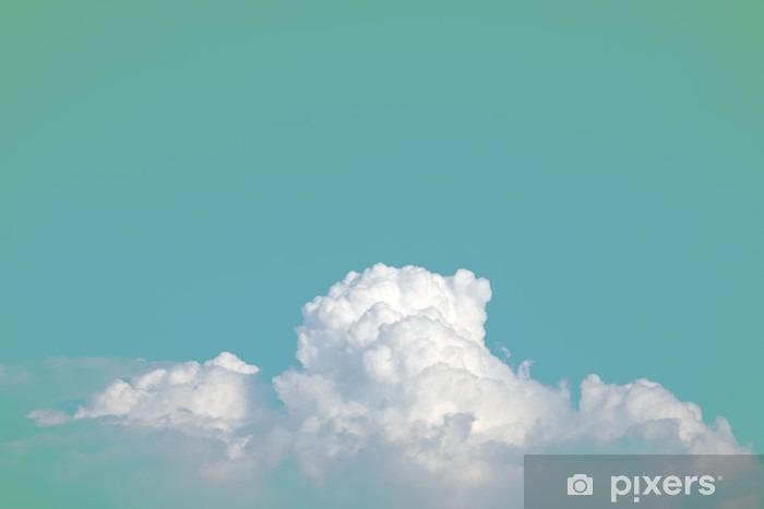 Zelfklevend Fotobehang Abstracte zachte wolkenhemel met verloop pastel vintage kleur voor achtergrond gebruik - Grafische Bronnen
