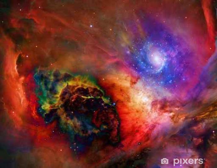 Afwasbaar Fotobehang Galactic Space Sommige elementen voorzien met dank aan NASA__ - Wetenschap
