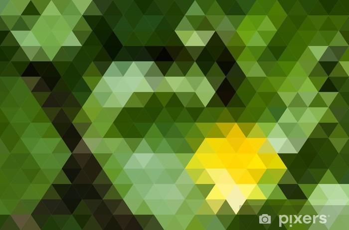 Fotomural Estándar Fondo geométrico abstracto - Recursos gráficos