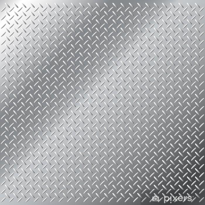 Plakát Vektorové pozadí lesklé kovové malé diamantovým vzorem - Aplikované a přírodní vědy